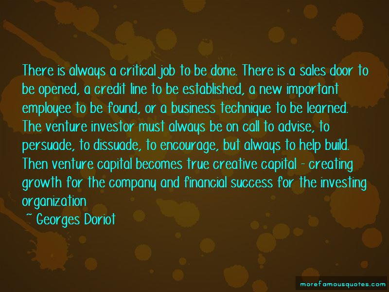 Georges Doriot Quotes Pictures 3