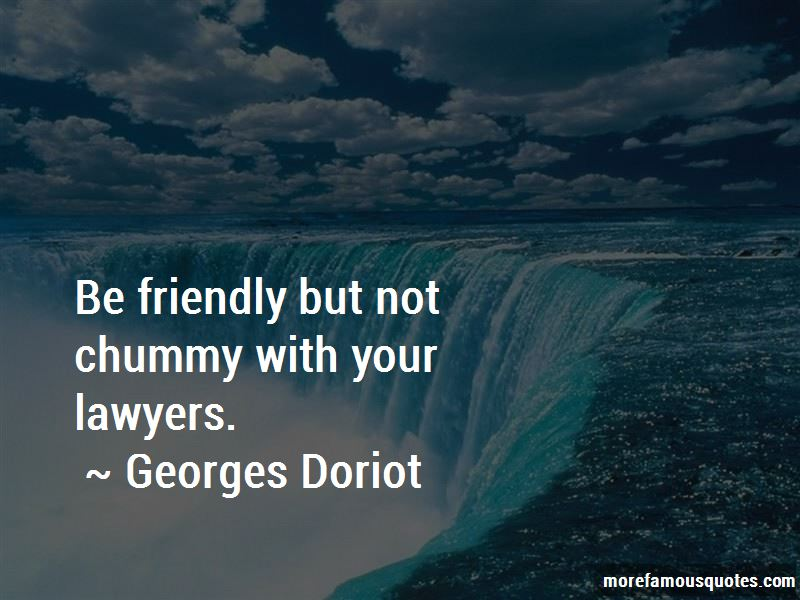 Georges Doriot Quotes