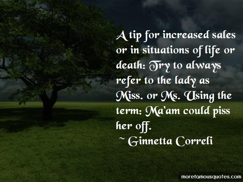 Ginnetta Correli Quotes Pictures 2