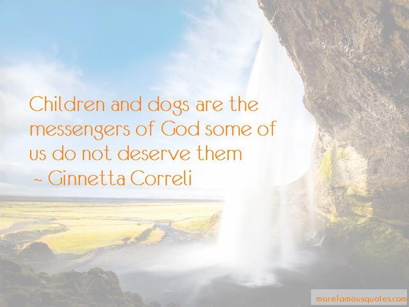 Ginnetta Correli Quotes
