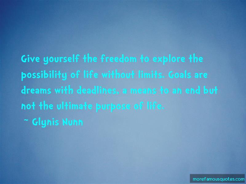 Glynis Nunn Quotes