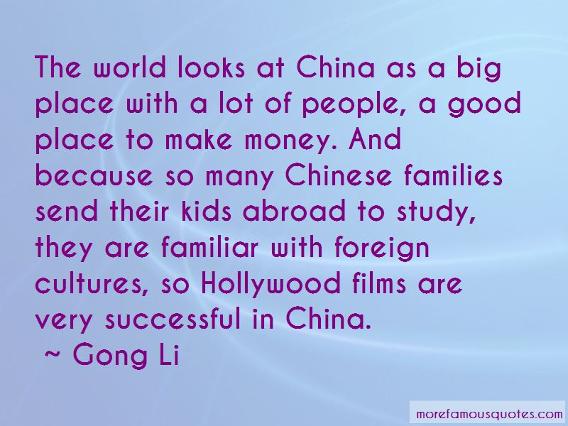 Gong Li Quotes Pictures 3