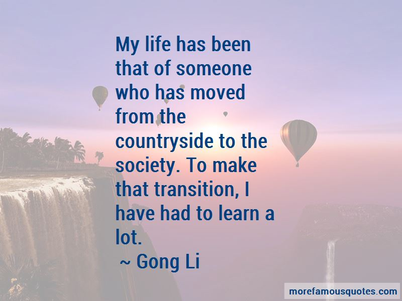 Gong Li Quotes
