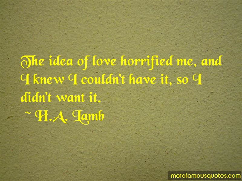 H.A. Lamb Quotes Pictures 2