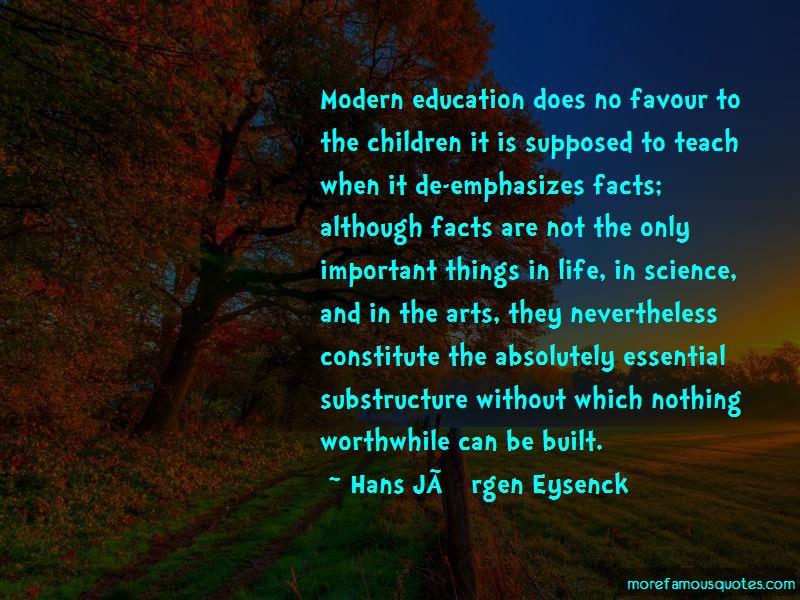 Hans Jurgen Eysenck Quotes Pictures 2
