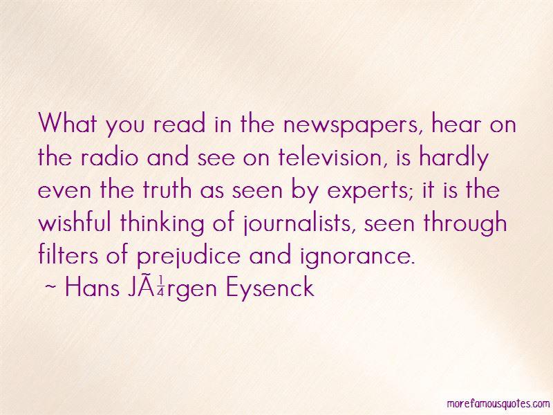 Hans Jurgen Eysenck Quotes Pictures 3