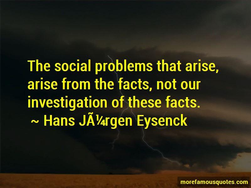 Hans Jurgen Eysenck Quotes Pictures 4