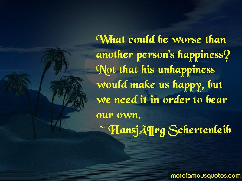 Hansjorg Schertenleib Quotes Pictures 2