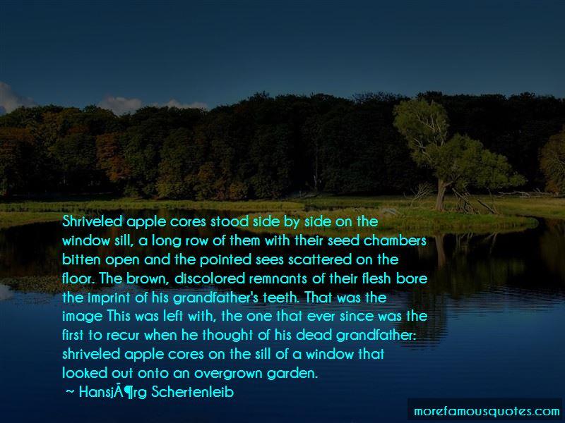 Hansjorg Schertenleib Quotes Pictures 3