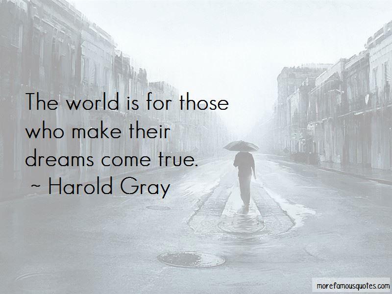 Harold Gray Quotes