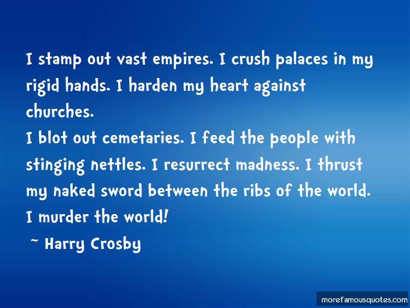Harry Crosby Quotes