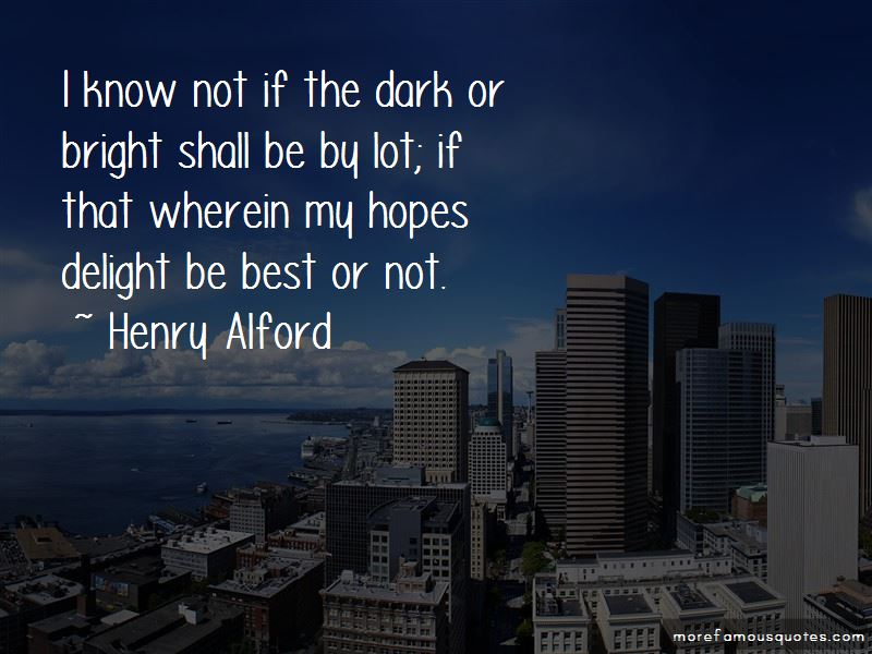 Henry Alford Quotes