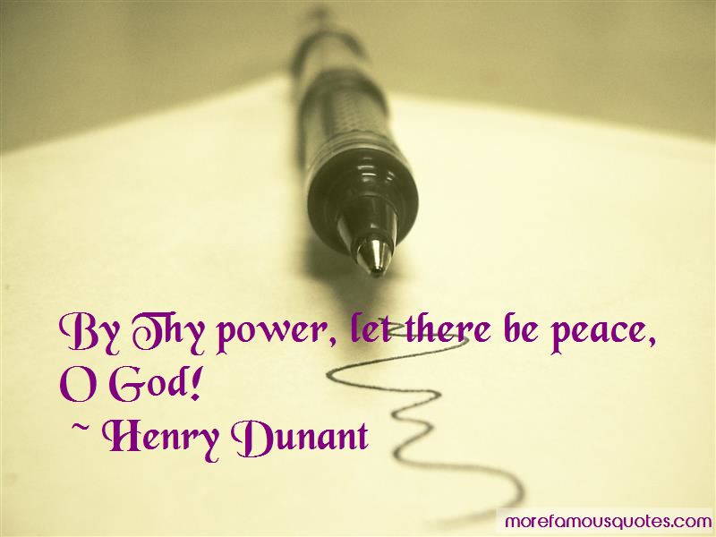 Henry Dunant Quotes