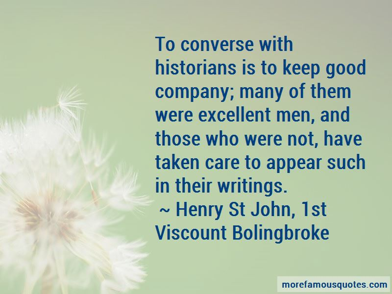 Henry St John, 1st Viscount Bolingbroke Quotes Pictures 3
