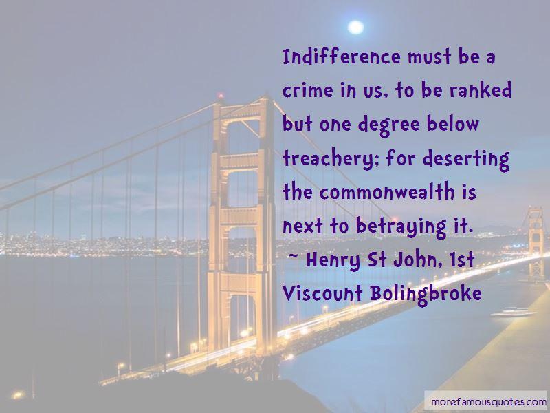 Henry St John, 1st Viscount Bolingbroke Quotes