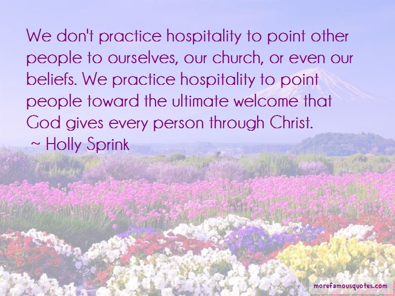 Holly Sprink Quotes
