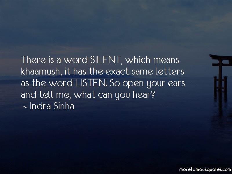 Indra Sinha Quotes Pictures 3