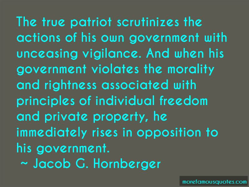Jacob G. Hornberger Quotes Pictures 2