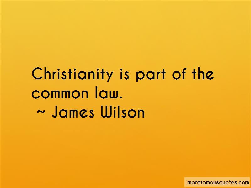 James Wilson Quotes