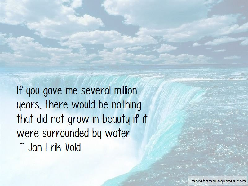 Jan Erik Vold Quotes