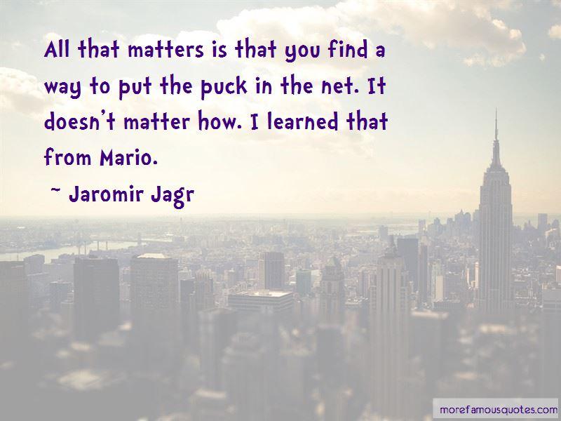 Jaromir Jagr Quotes Pictures 2