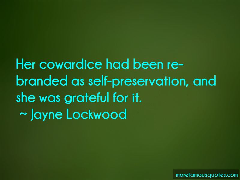 Jayne Lockwood Quotes