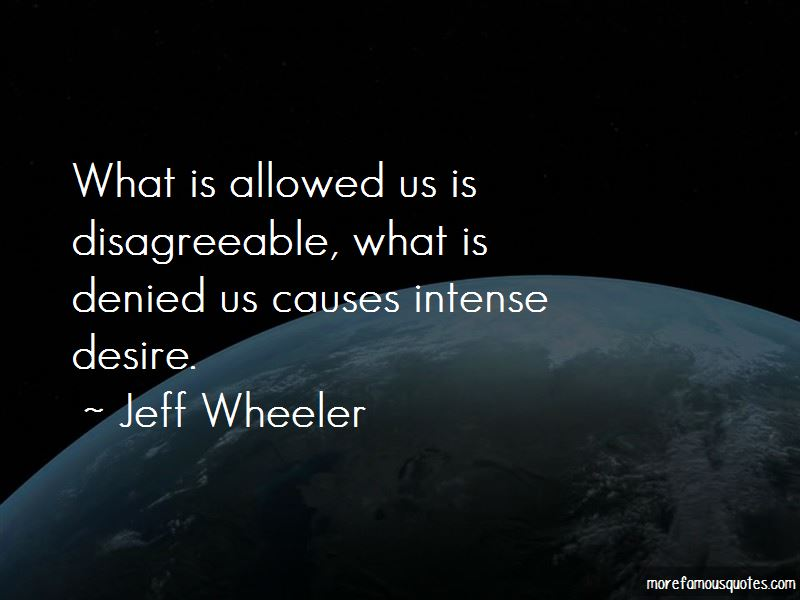 Jeff Wheeler Quotes Pictures 3