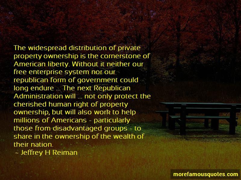 Jeffrey H Reiman Quotes