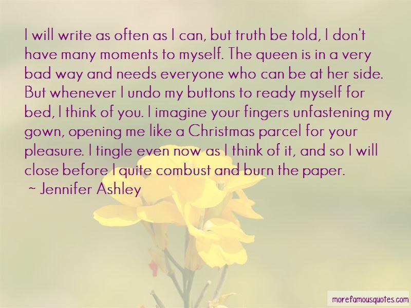 Jennifer Ashley Quotes Pictures 2