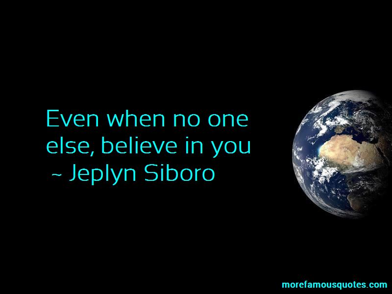 Jeplyn Siboro Quotes
