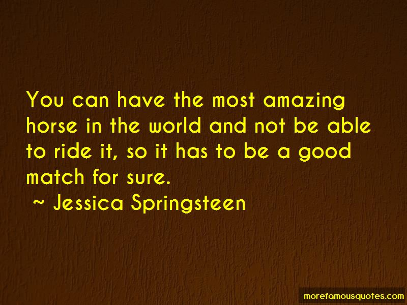 Jessica Springsteen Quotes Pictures 2