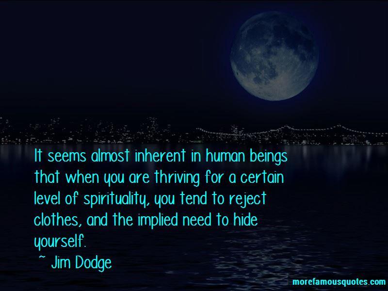 Jim Dodge Quotes Pictures 2