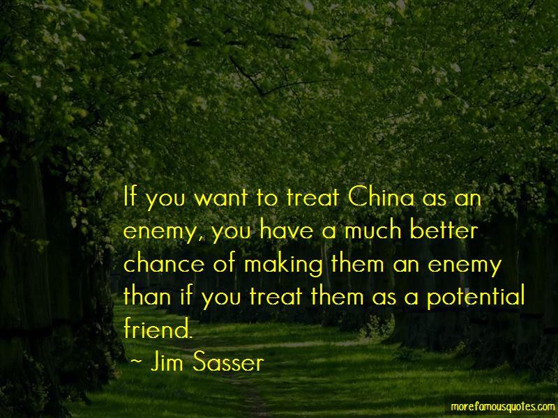 Jim Sasser Quotes