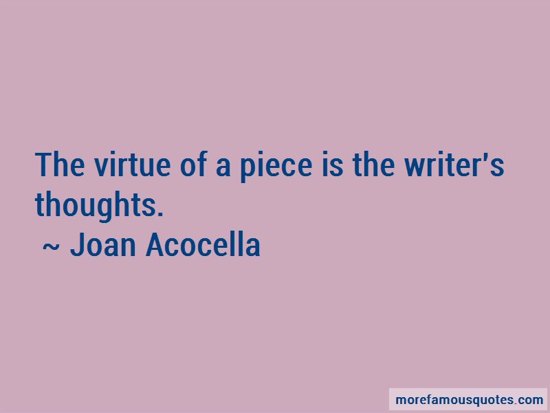 Joan Acocella Quotes Pictures 2