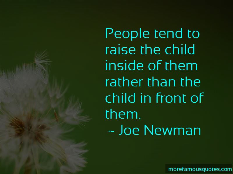 Joe Newman Quotes