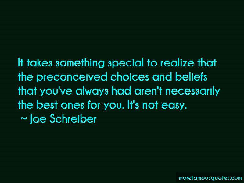 Joe Schreiber Quotes