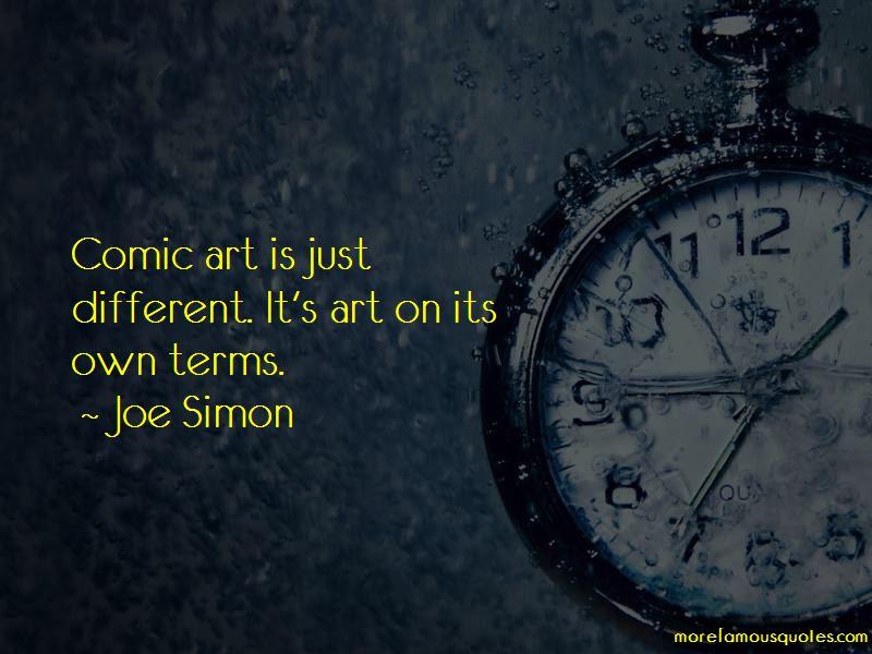 Joe Simon Quotes Pictures 2