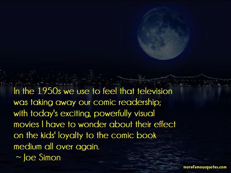 Joe Simon Quotes