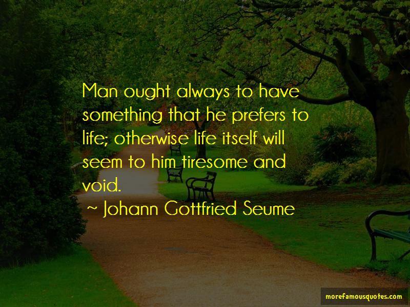 Johann Gottfried Seume Quotes