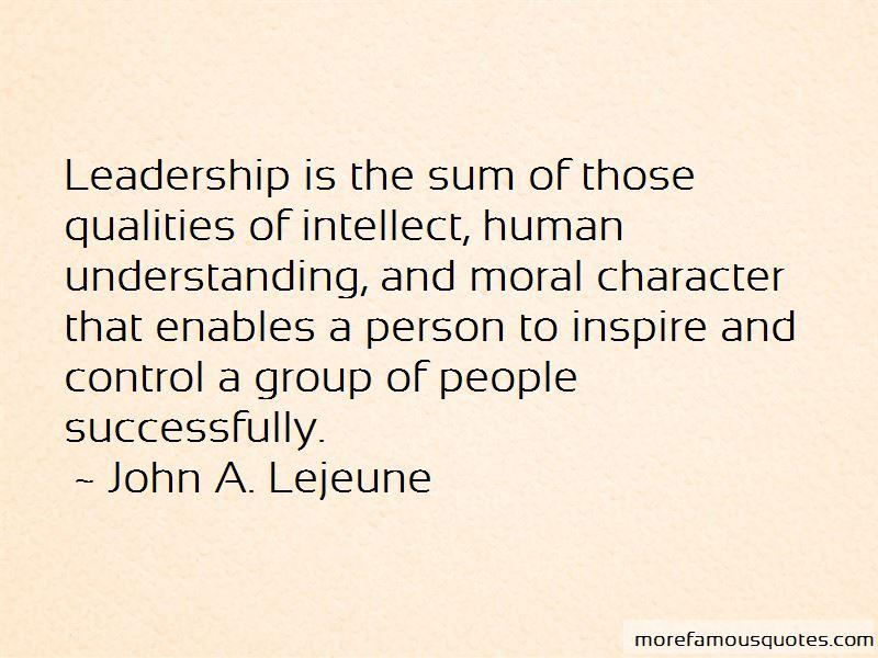 John A. Lejeune Quotes Pictures 2