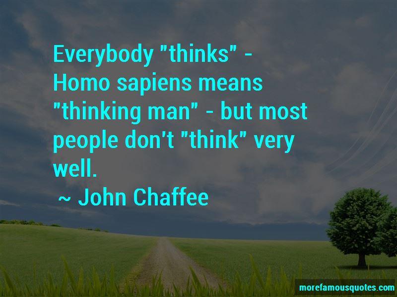 John Chaffee Quotes