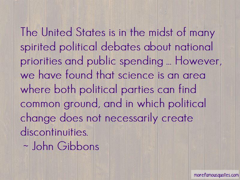 John Gibbons Quotes