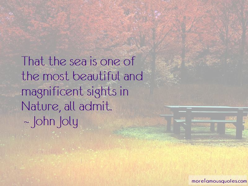 John Joly Quotes Pictures 2