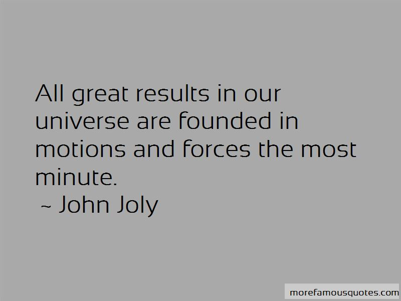 John Joly Quotes Pictures 3