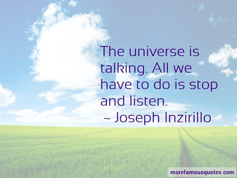 Joseph Inzirillo Quotes
