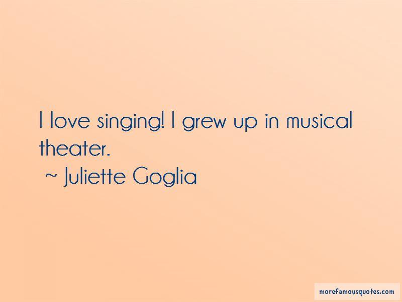 Juliette Goglia Quotes