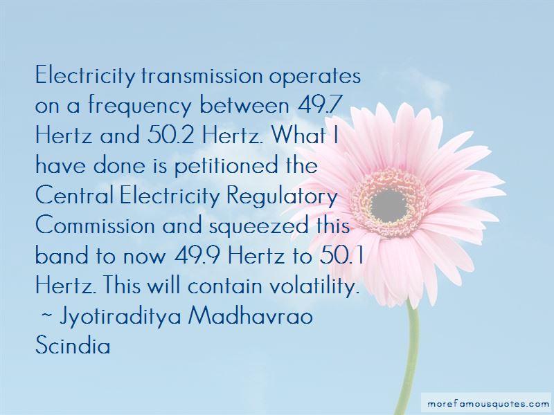 Jyotiraditya Madhavrao Scindia Quotes