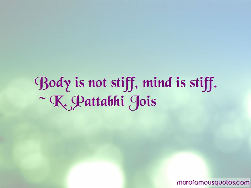 K. Pattabhi Jois Quotes Pictures 4