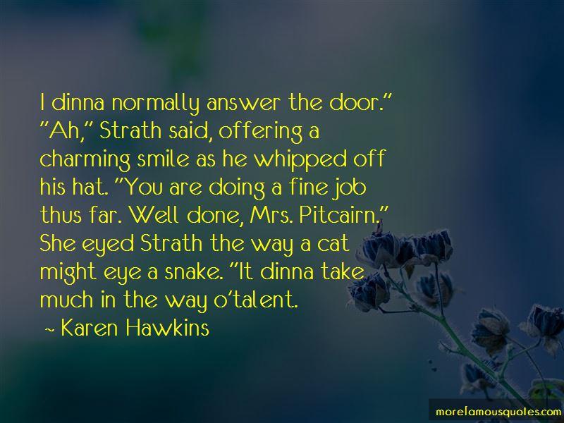 Karen Hawkins Quotes