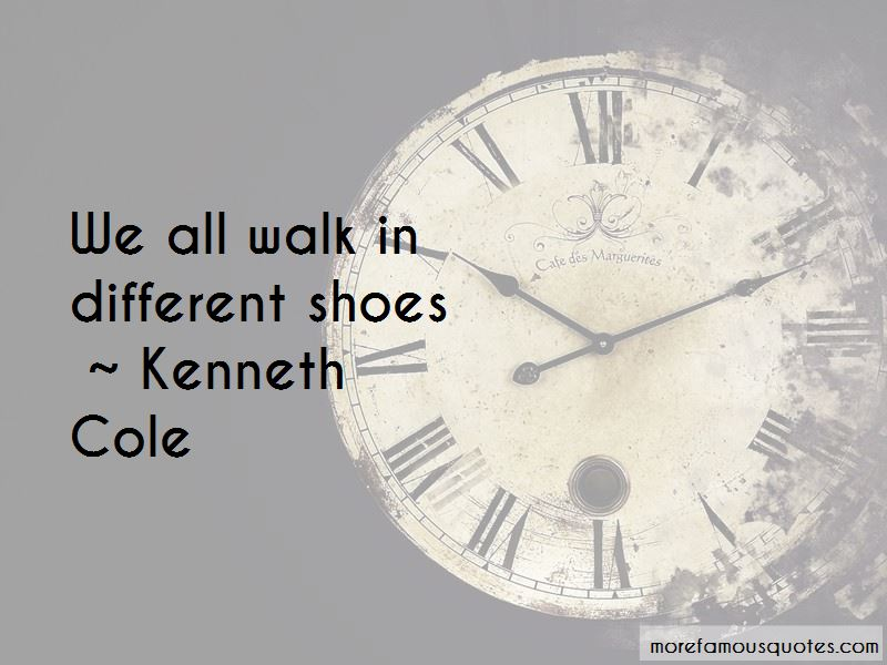 Kenneth Cole Quotes
